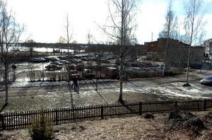 Området som intresserar HSB ligger nära Onbacken. Närhet finns också till Röda Kvarn och polishuset.