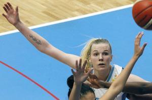 Elsa Paulsson Glantz under sin säsong med ÖB i damligan.