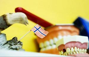 Kliniken har inlett ett samarbete med tandvården i norska Nordli. Cirka två dagar i veckan befinner sig tandläkaren Stig Östling och tandsköterskan Bente Kvemo på andra sidan gränsen och tar hand om de norska patienterna.