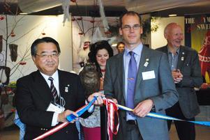 Nästa steg i samarbetet kan bli design från Dalarna då det väckt intresse i Japan.