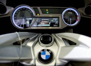 Det är detaljerna som gör det. Instumentpannelen på BMW K 1600 GT/Sport. Foto: Adam Ihse/TT