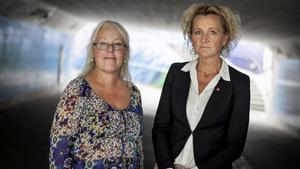 Marita Lärnestad (M) och Boel Godner (S).