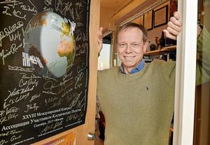 Rymdfararen och docenten i partikelfysik Christer Fuglesang fyller 60 år.