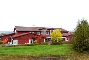Utanför Sundsvall ligger Mellannorrlands hospice.