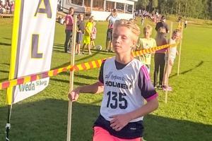 En av många deltagare i årets Älglunken i Lillhärdal.