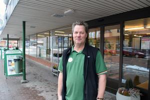 Mats Björnström, föreståndare för Coop.