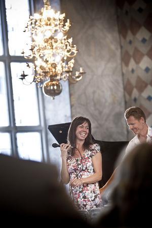 Rigmor Gustafsson och hennes trio framförde en bred repertoar under kvällen.