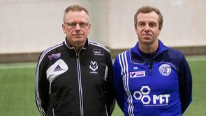 Västanfors Mikael Wikman och Söderbärkes Erik Eggen är överens.