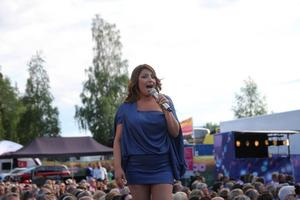 Helena Paparizou framförde bland annat sin låt