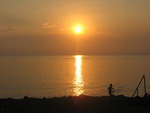 Man kan inget annat än förälska sig i Turkiet och Medelhavet med solnedgångar som denna. Första gången vi var där, men vi kommer åka tillbaka.