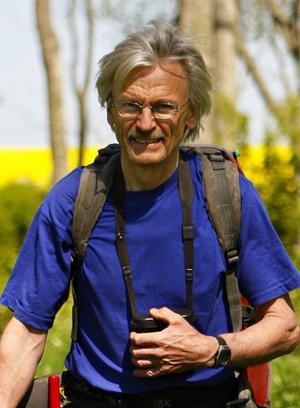 Björn Helander, prisbelönt havsörnsforskare på Naturhistoriska museet.