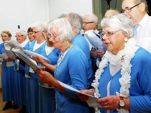 PRO-kören Blåklockorna sjöng bland annat