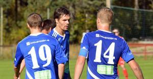 Rikard Brodin, Daniel Öhlander och Robert Bronegård gjorde alla mål i säsongens sista hemmamatch.