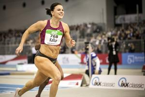 Susanna Kallur sprang över mållinjen med ett leende på läpparna.
