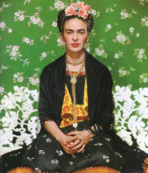 Självporträtt av Frida Kahlo.