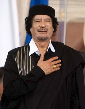 En skadad Muammar Gaddafi har enligt uppgift gripits i Libyen.