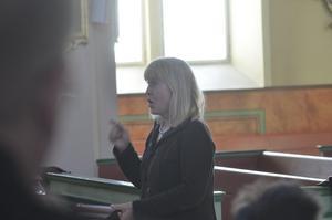 Dirigent. Förbundsdirigent är Marie Nordenmalm tillsammans med Jörgen Engström.