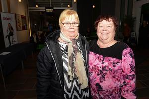 Siv Enholm och Janet Berg.