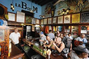 Hemingwaybar i Havanna.