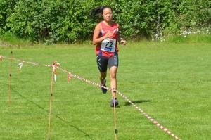 41d4af6e0ad3 Camilla Ohlsson hade det tufft i uppförsbackarna men hade bra fart när hon  sprang i mål