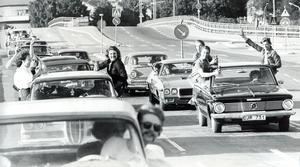 Raggare 20 juni 1977.