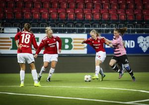 Frösön hade svårt att komma åt passningsskickliga IFK.