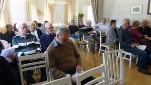 Motormännen Dalarna har runt 3 000 medlemmar. Ett 30-tal av dem deltog på årsmötet.