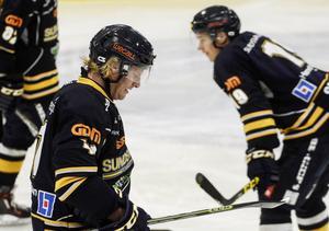 Mathias Månsson och hans Sundsvall Hockey lyckades inte ta poäng mot topplaget Björklöven.