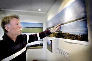 Mats Gradh är förvånad över att han fått in så få synpunkter på vindkraftsplanerna.
