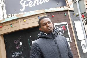 Papi Chulo, 29, kom till Sverige från Senegal 2011.