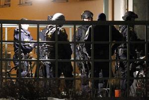 Polisens insatsstyrka genomförde husrannsakningar på flera adresser.