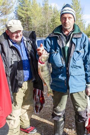 Lars Westlund från Herrö drog upp storabborren på 1320 gram och vann totalklassen med över 2,8 kilo fisk.