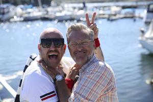 Jonas Hallberg och Tony Irving campar med stil i