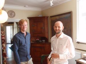 Stipendiater. Joel Nyman och Anders Emtell har, tillsammans med Sebastian Stevensson, tilldelats stipendier av Kammarmusiken i Sandviken ur Rune Jönssons minnesfond.