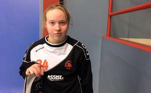 Izabell Rydell gör sitt första slutspel med Västerås Rönnby.
