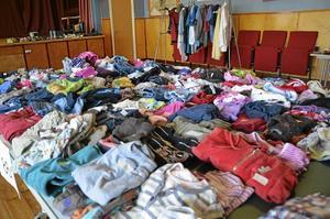 Återanvändning. Barnkläder ska byta ägare den 4 oktober i Betaniakyrkan, Åbytorp. Då arrangeras en återanvändardag mellan klockan 10-13.Arkivfoto: Veronica Svensson