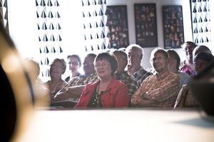 Många i publiken återvänder år efter år.