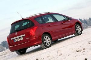 Peugeot 308 SW valdes i fjol till årets familjebil - och smartare val för en barnfamilj är svårt att finna.Foto: Rolf Gildenlöw