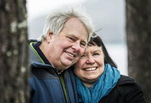 Christin Näslund kände igen symptomen på stroke då maken Reidar blev akut sjuk och räddade hans liv genom en snabb insats.