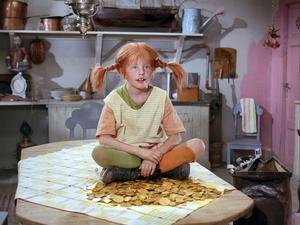 Pippi, en stark tjej men också ett starkt barn.