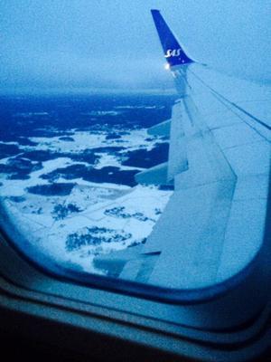 Tillbaka till Sverige och vardagen. Inte fullt så härligt väder men det är trots allt hemma!
