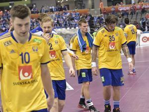 Sverige förlorade åttondelsfinalen i handbolls-VM. Polen vann med 24–20.