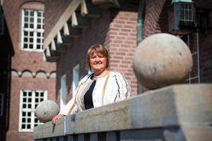 AnnSofie Andersson (S) är kommunstyrelsens ordförande i Östersund, och kandiderar till samma post efter söndagens val.