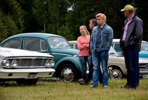 Omkring 1300 personer räknar arrangörerna med besökte helgens bilträff i Ljungaverk.