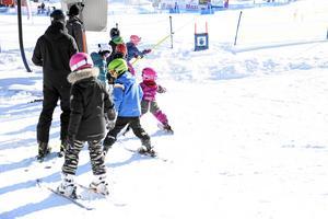 På Södra berget är barnliften gratis resten av säsongen.