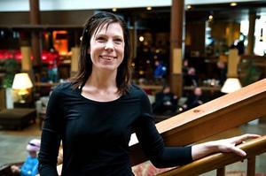 Therese Nordfeldt är en av personerna bakom Workout Åre. Intresset från kända tränarprofiler och föreläsare är stort i år.–Jag har nästan klart med ett jättestort namn, men jag kan inte säga något ännu. Foto: Sofia Karlström