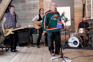 Stuoris ja Balddonas, Peter Uvén, Jonas Strandgård, Johan Wållberg och Krister Stoor, visade vad jojk kan vara.