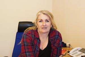 Mia Logård tycker att Roslagsskolan arbetar föredömligt mot narkotika.