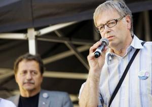 Håkan Larsson (C) sa nej till EU.