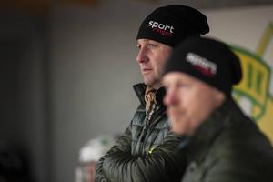 Patrik Larsson, tränare i Ljusdals BK.